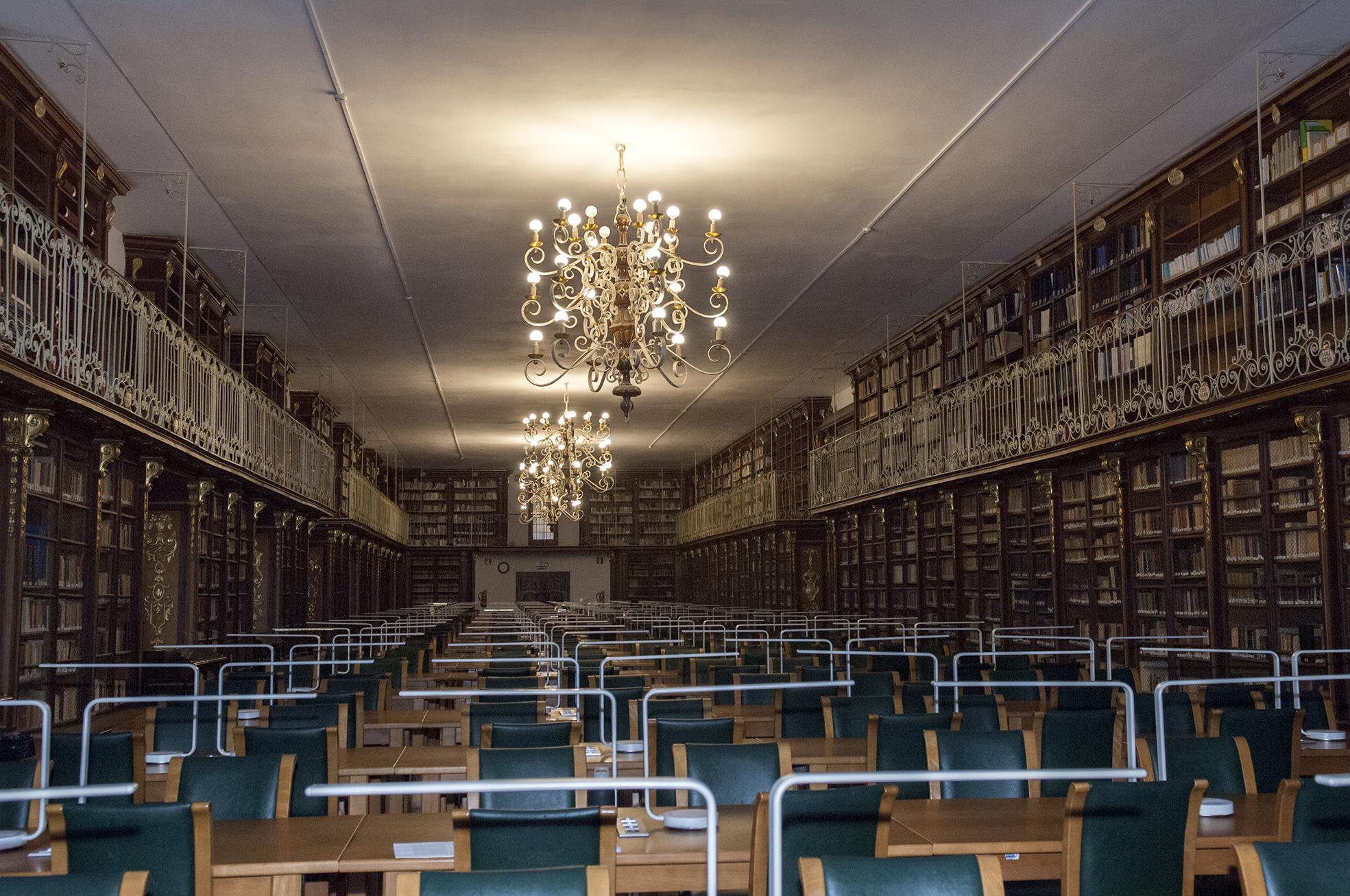 Biblioteca da Facultade de Xeografía e Historia da Universidade de Santiago de Compostela
