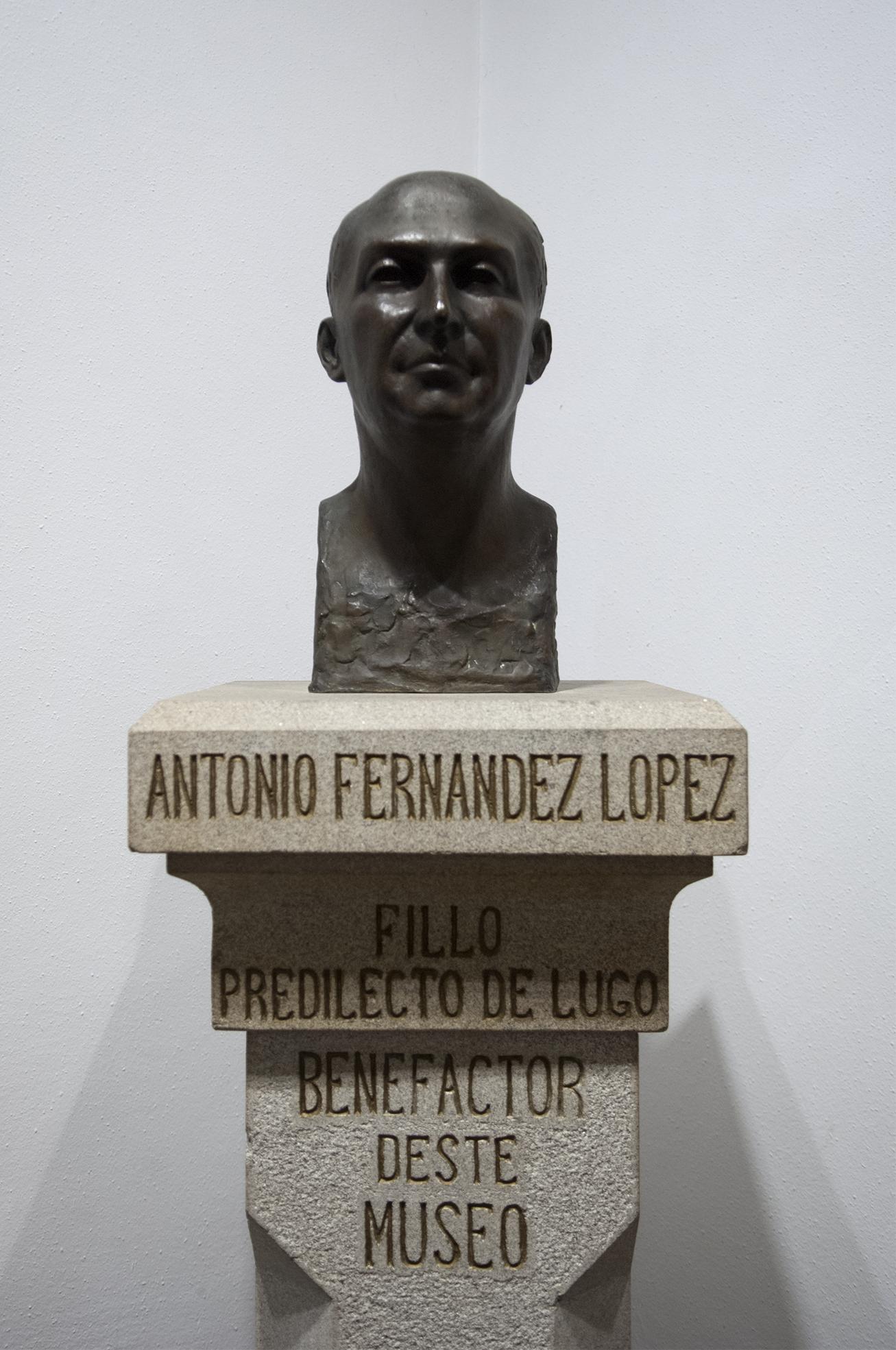 Busto de Antonio Fernández López