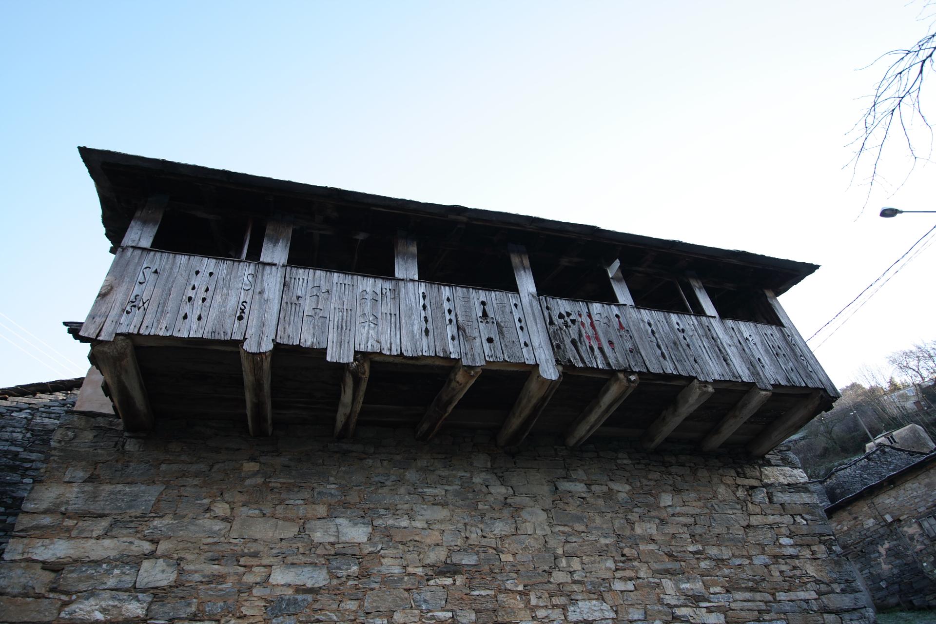 Balcón en Moreda