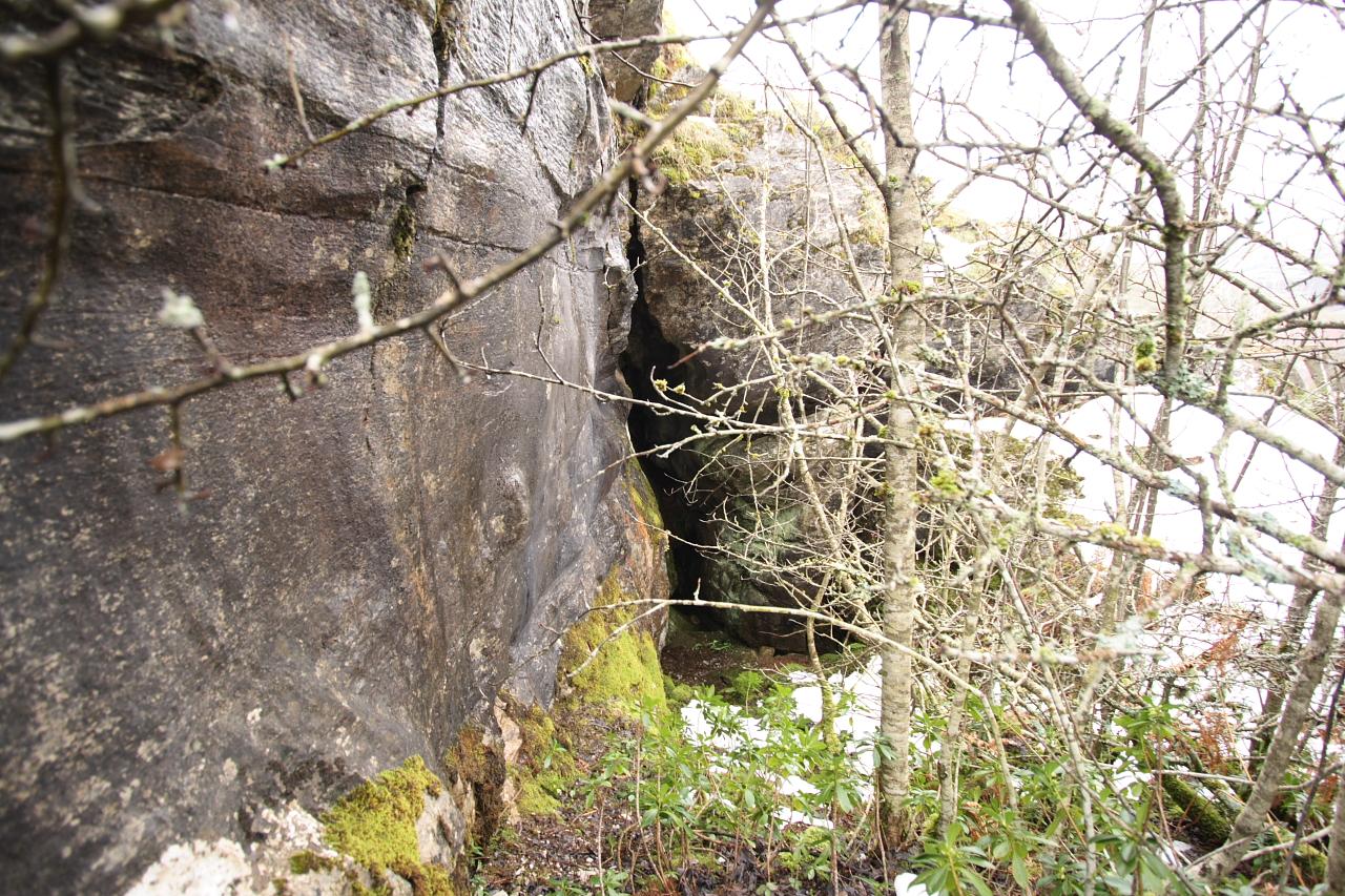 Entrada á cova