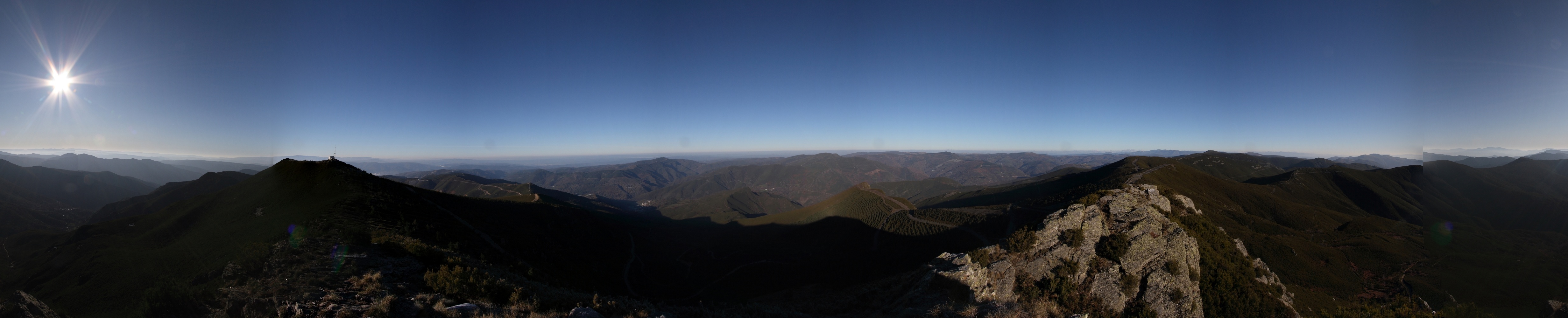 Vista desde o Pía Paxaro