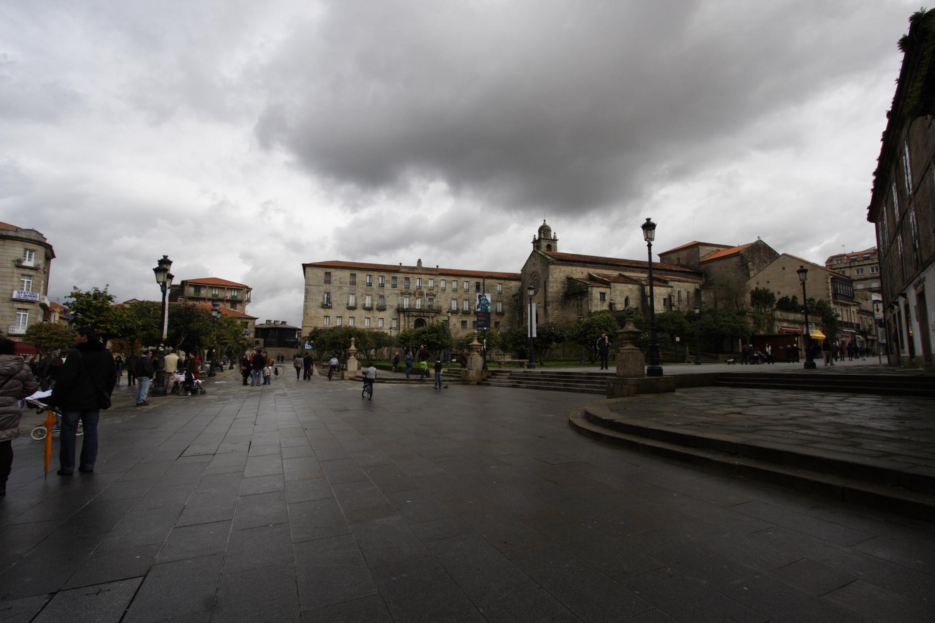 A Ferrería, os xardíns de Casto Sampedro e San Francisco