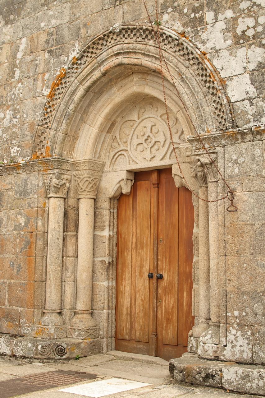 Portada da igrexa