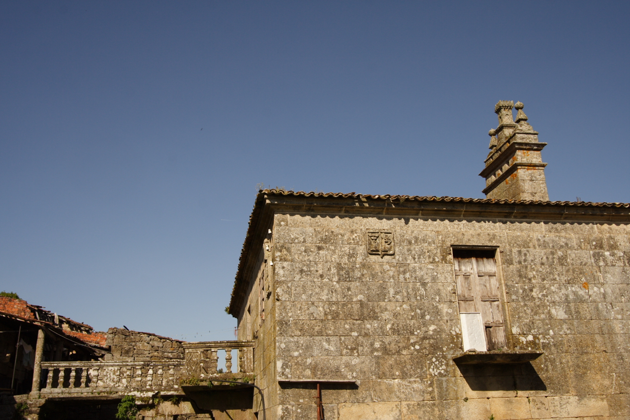 Cheminea e fachada lateral