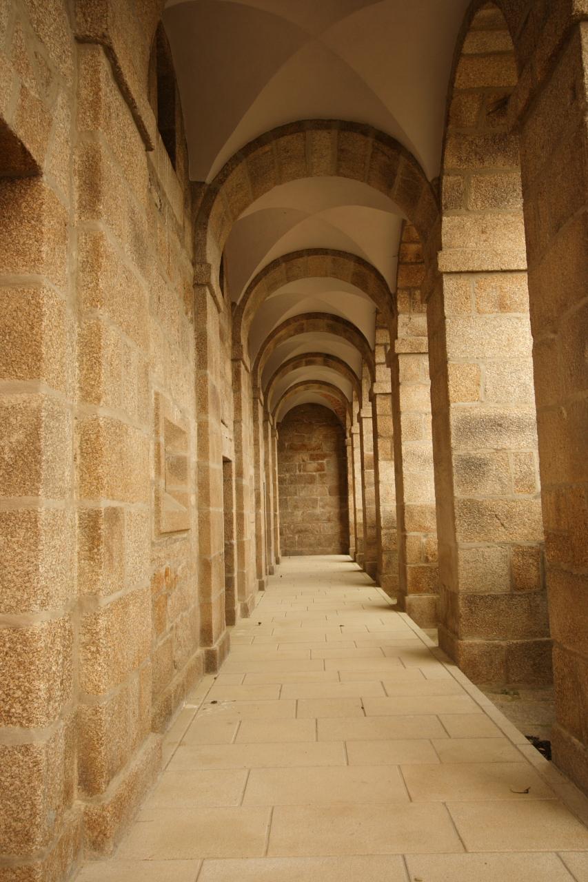 Interior do pórtico