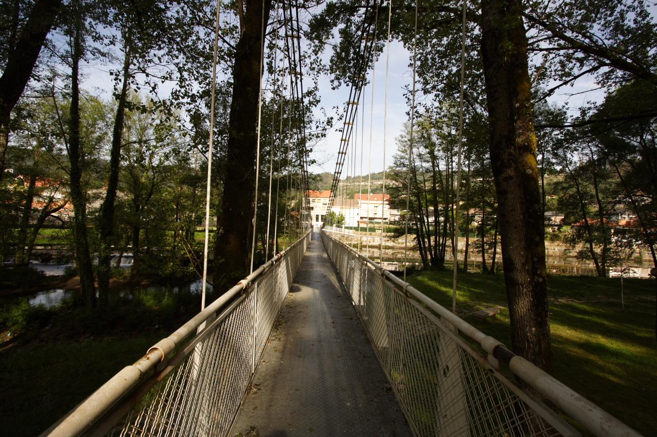 Ponte Colgante de Leiro