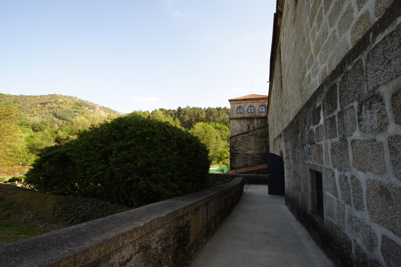 Vista do xardín