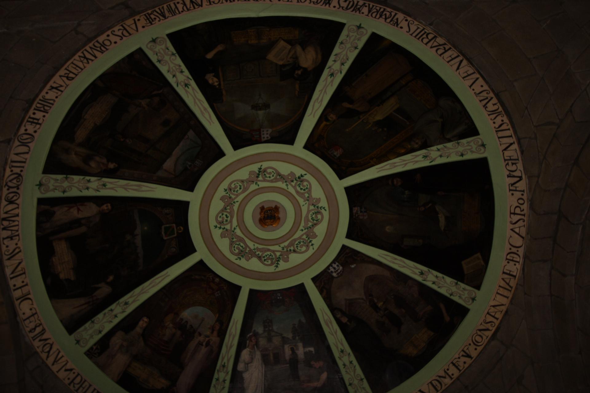 Frescos da bóveda