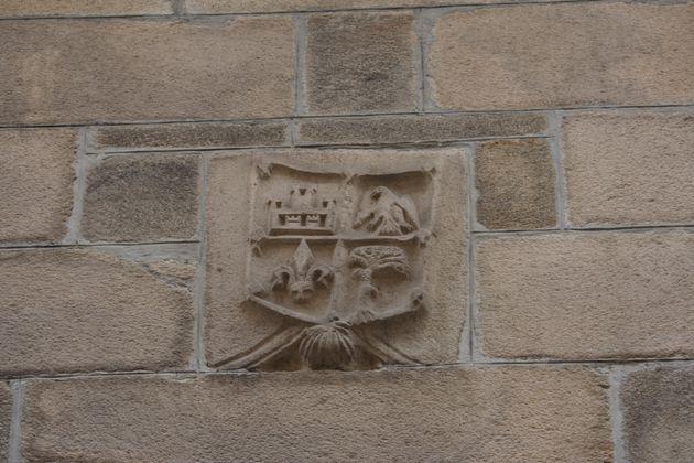 Escudo na Casa Museo