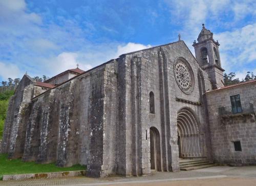 4 Mosteiro de Santa María de Armenteira (Meis)